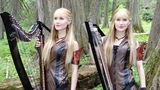 The DRAGONBORN COMES (Skyrim Oblivion) - Harp Twins, Camille and Kennerly