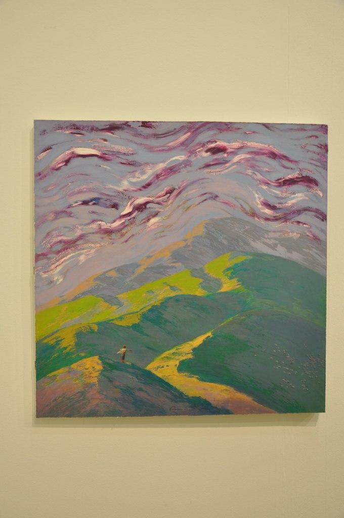 Союз художников Республики Казахстан  Бейбит Асемкул (р. 1985)  Детство. 2011  Холст, масло