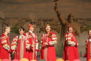 Ансамбль народной песни строителей родовых поместий из трех поселений Белгородской области