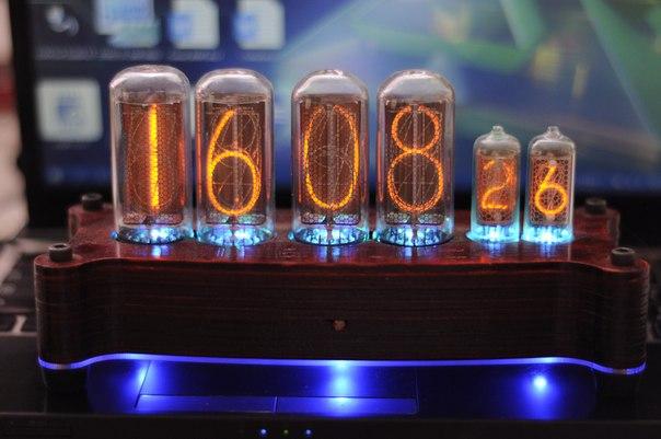 Газоразрядный индикатор часы своими руками 623