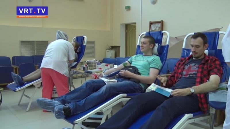 Доноры! Они отдают свою кровь, чтобы спасти чужие жизни.