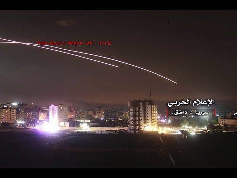 Israel Attacks Syria Again, Gaza Retaliates After Israel Attack 5500 US-Backed Syrian Mercenaries