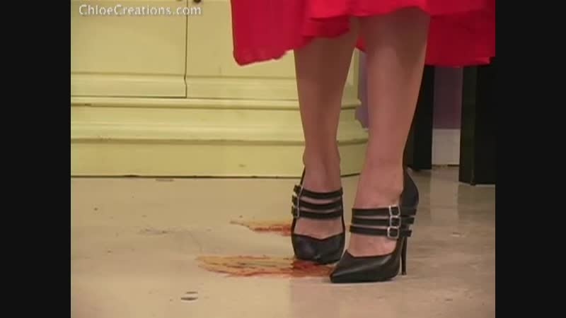 Chloe Creations high heels stuck in glue