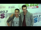 Big Time Rush boys arrive at KIIS FM's Wango tango 2013 Orange Carpet