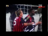 Juventus Milan 3 2 Mexes pugno su Chiellini - Mexes punch on Chiellini Juventus Milan 3 2