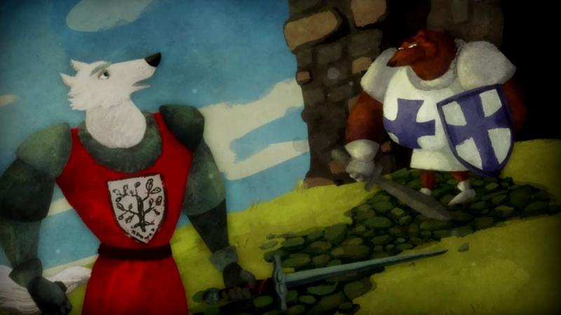 Волшебный фонарь - Настоящий рыцарь Айвенго - Серия 18 - классическая литература для детей