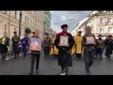 Крестный ход 12 сентября 2018 Петербург - в честь святого князя Александра Невского