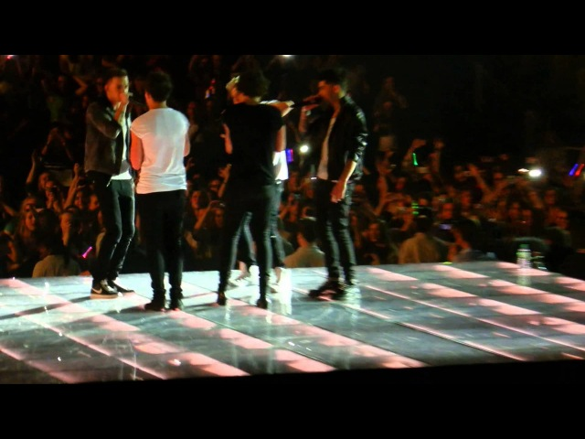 One Direction rapping fresh prince of bel-air | Oberhausen, 04.05.2013