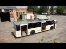 Житомирське ТТУ показало тролейбус який зібрало з нуля Житомир info