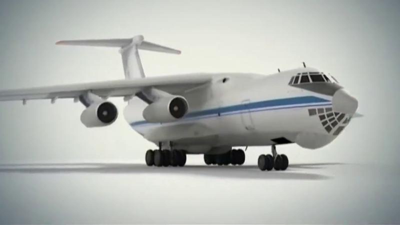 Небесный Грузовик Ил 76