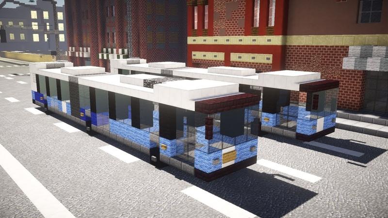 Minecraft MTA NYC NovaBus LFS Artic SBS Bus Tutorial