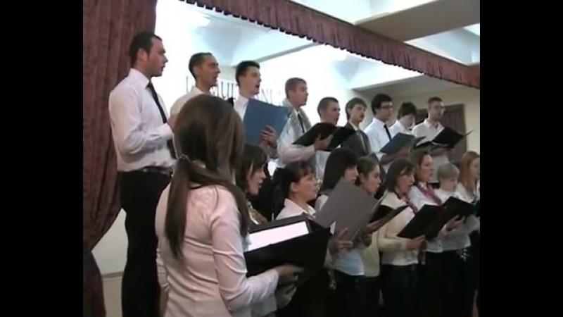 Музыкальная школа имени Полякова хор 23.12.2011