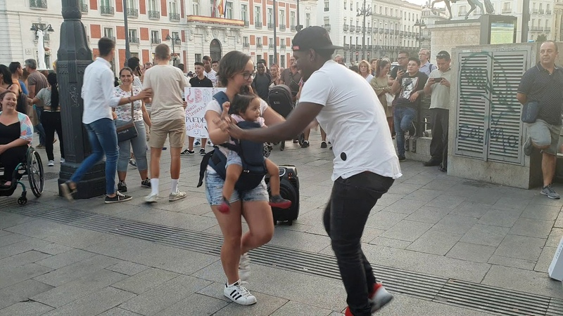 Bailando Timba cubana l bailando salsa cubana l Madrid Timbera