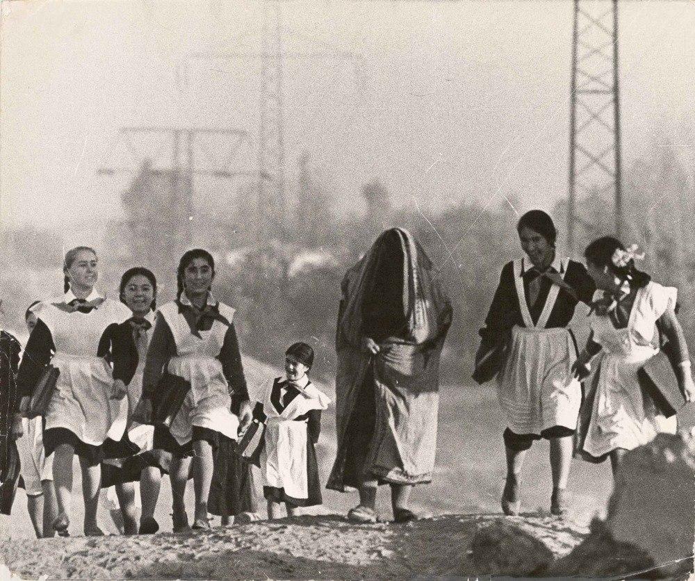 Узбекистан-старое и новое. СССР, 1970-е. Фотограф: Всеволод Тарасевич.