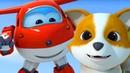 Супер Крылья Джетт и его друзья - Щенки для принцессы 5 серия Super Wings на русском