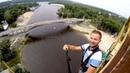 BUNGEE JUMPING Прыжек с Вышки над Днепром в Гидропарке Киева [29.07.2018]