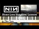 Hurt NIN Trent Reznor in concert Lesson