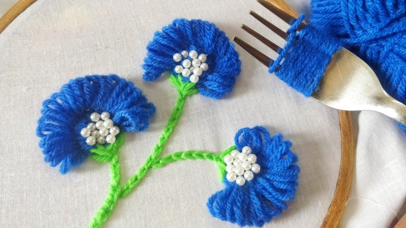 Easy Embroidery hacks 2 (Hand Embroidery Work)