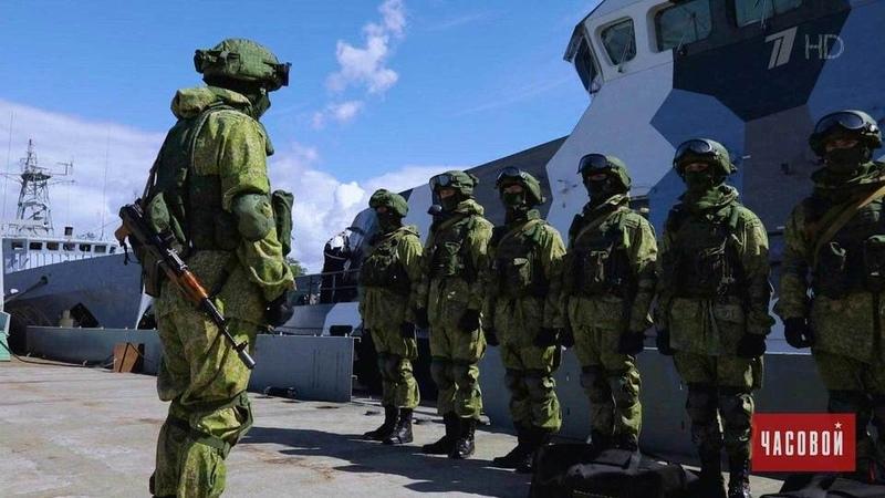 Спецназ ВМФ: хранители Балтики. Часовой. Выпуск от16.09.2018