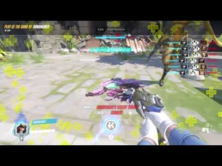 Shout out to my sombra friend who hacked everyone for my first 6k!