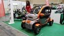 Первый обзор китайского электромобиля - электроскутера 1200W. Доступный аналог Renault Twizy.