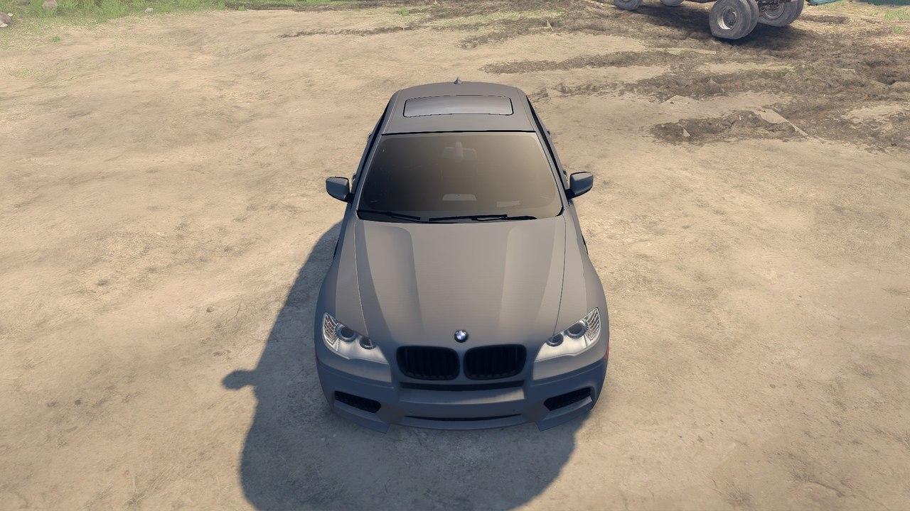 BMW X6M v.2.0 для Spintires - Скриншот 1