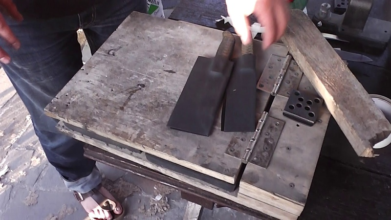 Мастер класс.Полушкино.Изготовление кайдексных ножен.