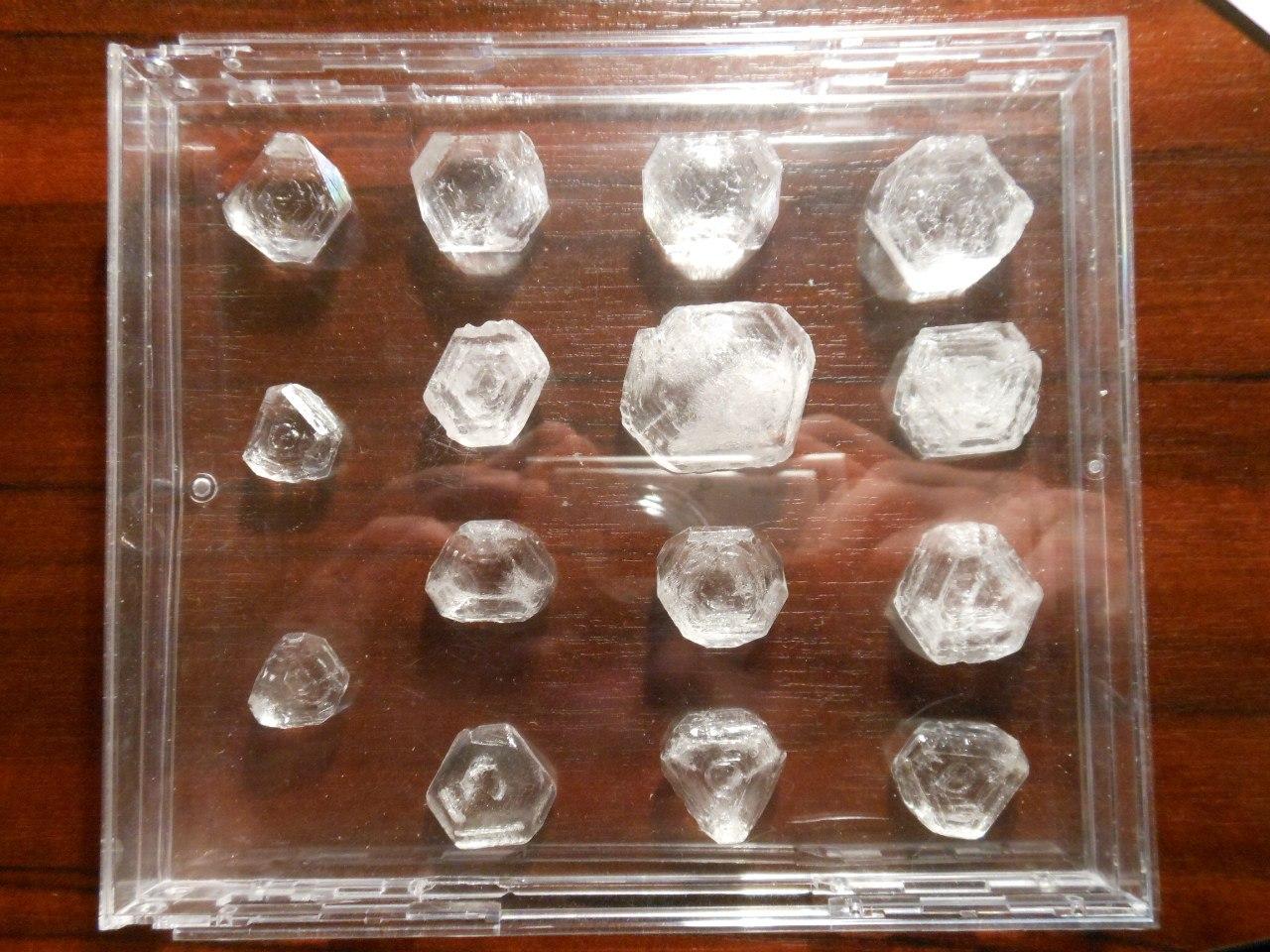 как растить кристаллы из соли видео