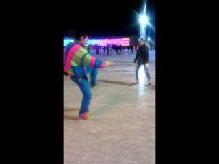 Каток парк Сокольники Открытие Танец на льду Метлицкого vovan cosmos +888 6527
