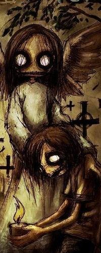 самые страшные фотки на хэллоуин