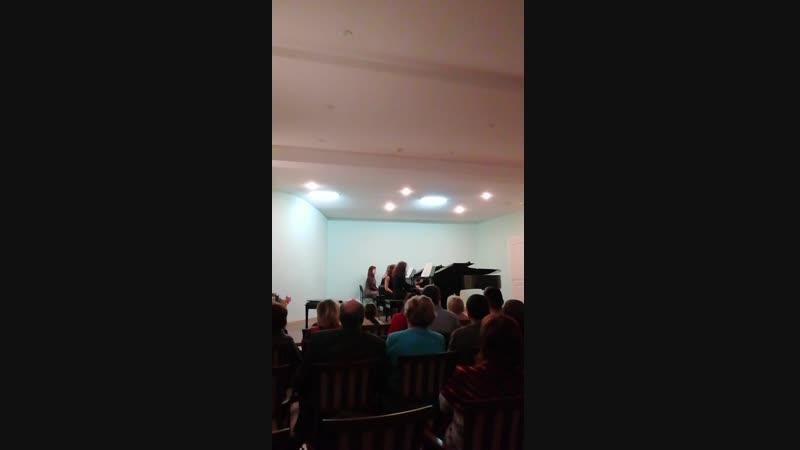 16.12.2018, малый зал Нижегородской консерватории им. М. И. Глинки