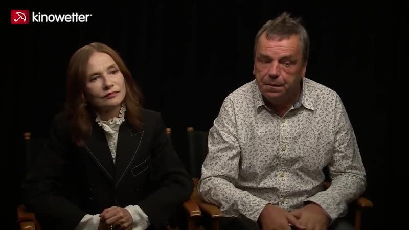 Interview Isabelle Huppert and Neil Jordan GRETA
