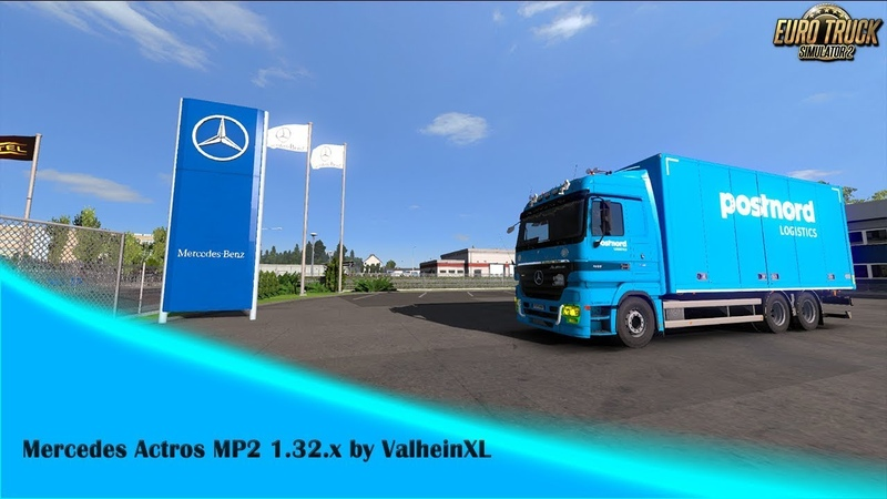 [ETS2 v1.32x] Mercedes Actros MP2 1.32.x by ValheinXL
