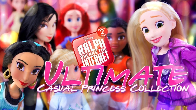 Unbox Daily: ALL NEW Wreck it Ralph 2 Disney Casual Princess Ultimate Edition