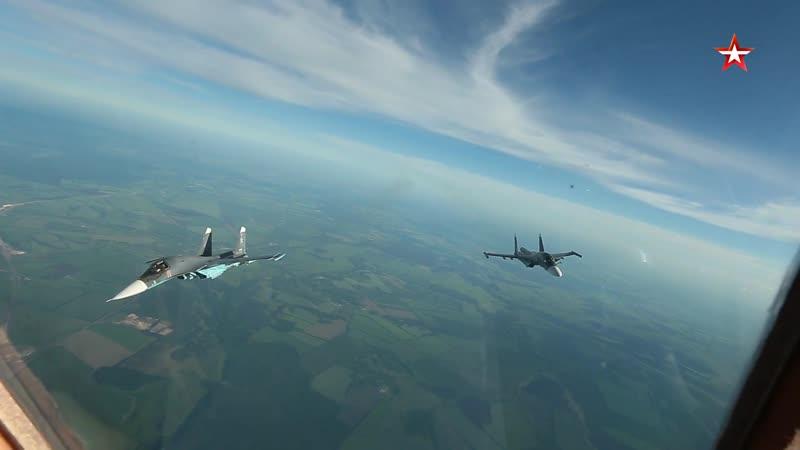 Континентальные перелеты с преодолением воздушных ям: стартовали учения авиации ЗВО