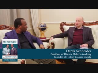 6. Books Sunday Adelaja. INTERVIEW WITH DEREK SCHNEIDER ON THE BOOK_ MYLES MUNROE–FINDING ANSWERS TO WHY