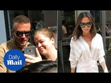Beckhams United! David and Victoria turn up for Kent &amp Curwen