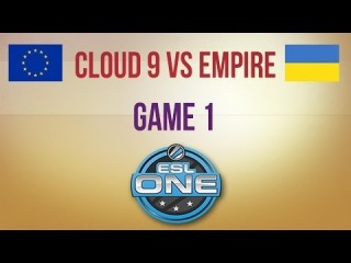 Cloud 9 vs Empire g.1 Euro Qualifier ESL One Frankfurt