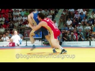 ЧР по вольной борьбе-2014. 61 кг. Александр Богомоев - Бекхан Гойгереев. Полуфинал