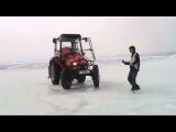 Гонки на тракторах на Ледовом автодроме.Extreme 4x4