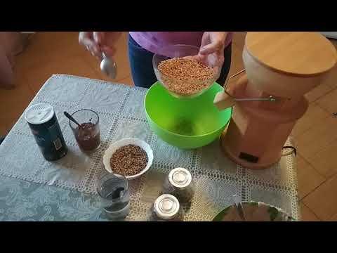 Ржано пшеничный хлеб с расторопшей на натуральной закваске