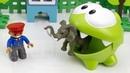 Мультик Приключения Ам Няма в Зоопарке. Игрушки для детей