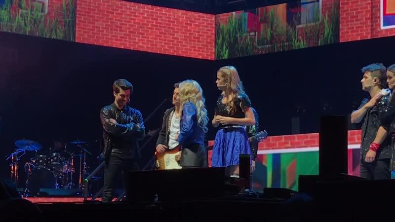 Soy Luna En Vivo - Diálogo Jam Roller vs Red Sharks _ Auditorio Nacional 9_23
