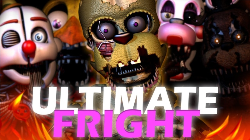 FNAF ULTIMATE CUSTOM NIGHT SONG | ULTIMATE FRIGHT [GREEN VERSION] By DHEUSTA [OFFICIAL SFM]