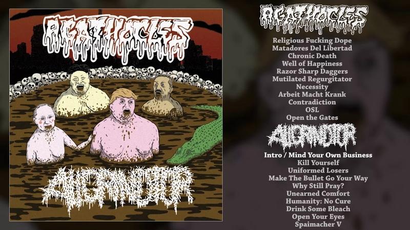 Agathocles / Aligrindtor - split CS FULL ALBUM (2018 - Mincecore / Grindcore)