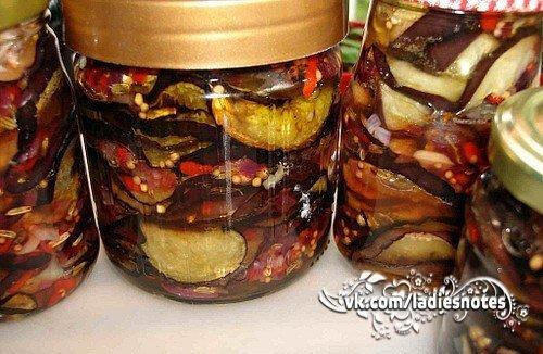 Рецепты заготовок на зиму баклажанов фото