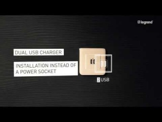 Legrand Mosaiс USB chargers