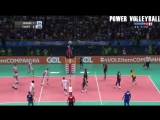 TOP 10 Best Volleyball Spikes Over The Block (HD)