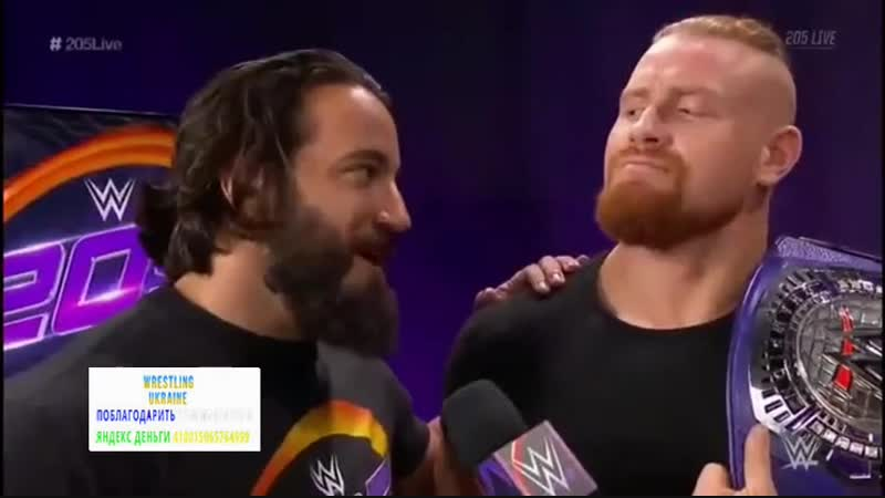 [Wrestling Ukraine]Highlights]WWE 205 Live 24 Octobre 2018 HD]Огляд Українською]