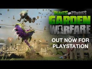 Plants vs. Zombies Garden Warfare   PlayStation Trailer